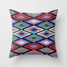 Montauk Diamond Throw Pillow