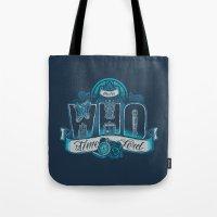 Infinite Who Tote Bag