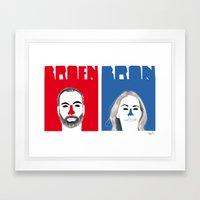 Broen/bron Framed Art Print