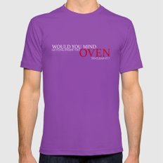 Don't Question Grandma Mens Fitted Tee Ultraviolet SMALL