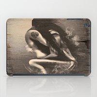 I Miss Us  (wood texture) iPad Case