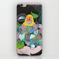 iPhone & iPod Skin featuring She's Coming! by Romantic Gargoyle