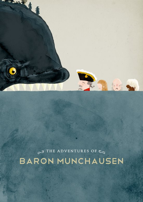 The Adventures of Baron Munchausen Art Print