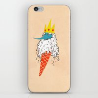 Ice king as an ice cream  iPhone & iPod Skin