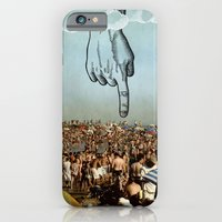 iPhone & iPod Case featuring hand by sr casetin