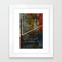 Comic Element Framed Art Print