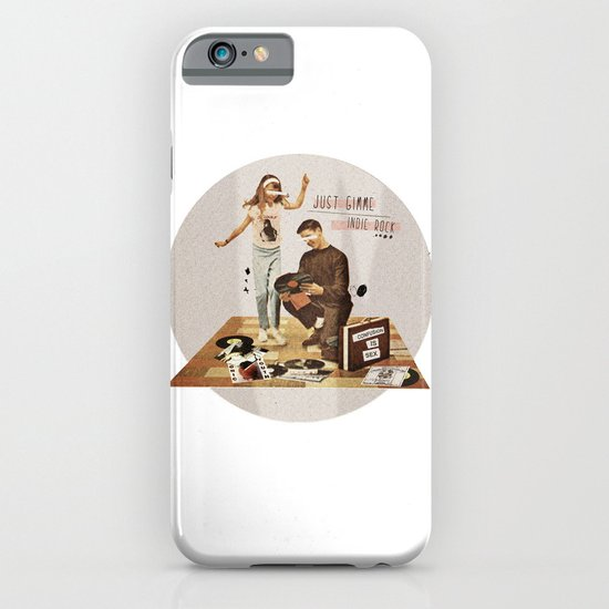 Just Gimme Indie Rock | Collage iPhone & iPod Case