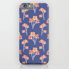 anemone flowers :: lavender Slim Case iPhone 6s