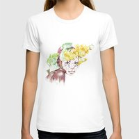 Etiopia Womens Fitted Tee White SMALL