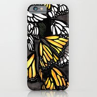 iPhone & iPod Case featuring The Monarch by eduardo vargas