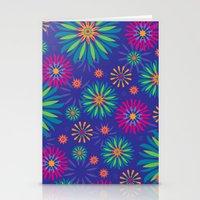 Psychoflower Violet Stationery Cards