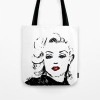 Marilyn M Tote Bag