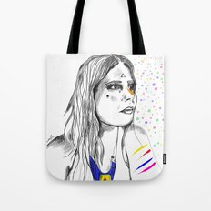 Colored Imagination Tote Bag