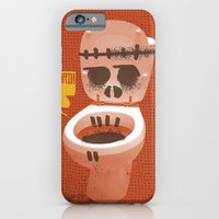 iPhone & iPod Case featuring Toilet Bowl by YONIL