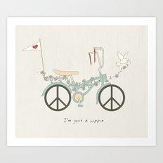 Peace & Love (Text Version) Art Print
