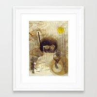 bcsm 001 (captain) Framed Art Print