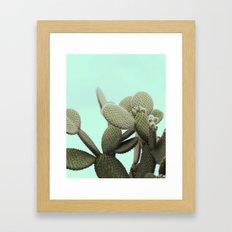 CANDY POP CACTUS Framed Art Print