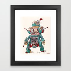 The Tactical Scout Walker Framed Art Print