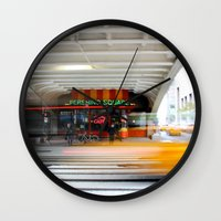 New York Grand Central C… Wall Clock