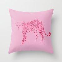 The Pink Panther Throw Pillow