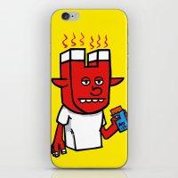 enigmatic todd iPhone & iPod Skin