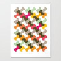 Geometric Pattern (2010) Canvas Print