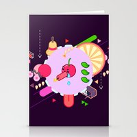 Tasty Visuals - Cherry P… Stationery Cards