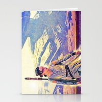 Rey Solo Destroyer - The Force Awakens Stationery Cards