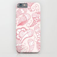 iPhone & iPod Case featuring Ghostly Paisley: Bloodlust by Cate Anevski