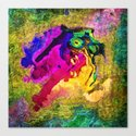 Color dragoon by healinglove Canvas Print