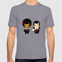 Pulp Fiction Mens Fitted Tee Slate SMALL