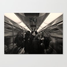 London Tube 150th Anniversary  Canvas Print