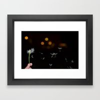 basejump Framed Art Print