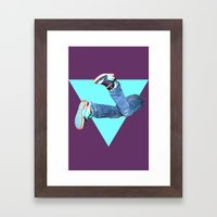 Pumped Up Kicks Framed Art Print