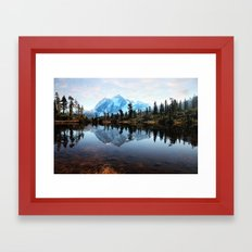 Mt Shuksan Framed Art Print
