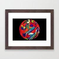 Mon Monde Framed Art Print