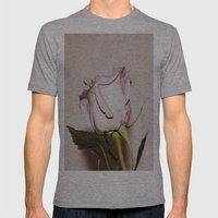 Last Rose Mens Fitted Tee Athletic Grey SMALL