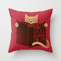 How To Rule The Internet… Throw Pillow