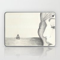 Away At Sea Laptop & iPad Skin