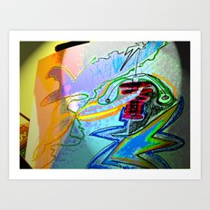 electroglide element 4  Art Print