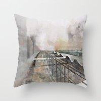 Paris D'avenir 3 Throw Pillow