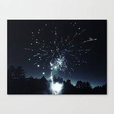 Fireworks on Lake Sokokis Canvas Print