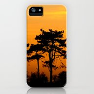 Sunset Trees iPhone (5, 5s) Slim Case
