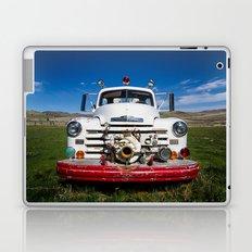Old Fire Engine Laptop & iPad Skin