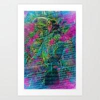 Tookan Camun Big Bird In… Art Print