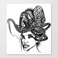 Swallowed Canvas Print
