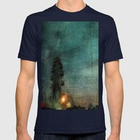 When The Carnival Comes … Mens Fitted Tee Navy SMALL