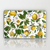 LEMON TREE White Laptop & iPad Skin