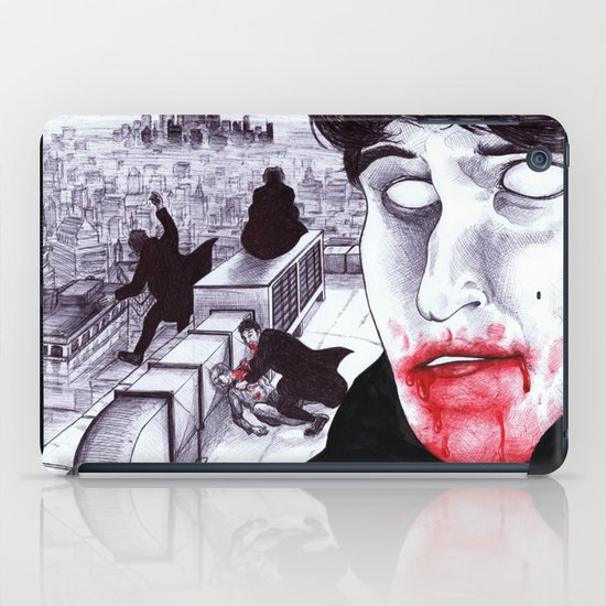 """Modern Vampires of the City"" by Cap Blackard iPad Case"