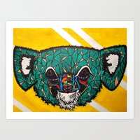 Koala, Whoa Art Print
